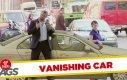 Ukryta kamera - znikający samochód