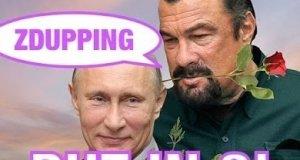 Następny śmieszny dubbing Putina