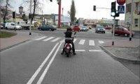 Drwal na skuterze - Polska