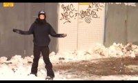 Snowboardzista z niesamowitym szczęściem
