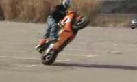 Sztuczki na motorze