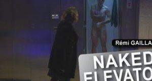 Remi Gaillard nago w windzie [cenzura]