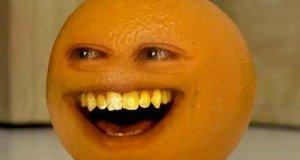 Nieznośna pomarańcza - jabłko
