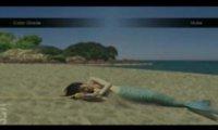 Syrena na plaży