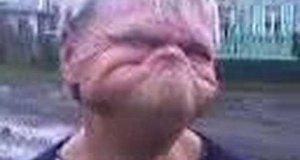 Ziom - gumowa twarz