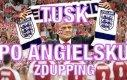 Tusk po angielsku - Zdupping