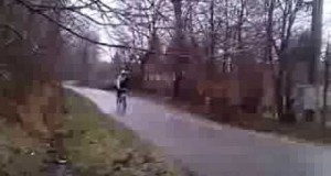 Zimowy rowerek