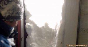 Tymczasem na Ukrainie, gdy popadał śnieg