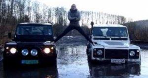 Norweska parodia reklamy z Van Dammem