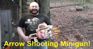Minigun na strzały