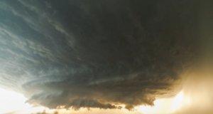 Superkomórka burzowa w Teksasie