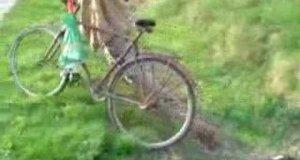 Walka z rowerem