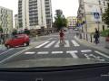 Zawracanie na przejściu dla pieszych