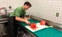 Ekspresowe krojenie arbuza