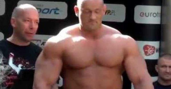 """""""Hardcorowy Koksu"""" Burneika vs """"El Testosteron"""" Najman - Oficjalne ważenie"""