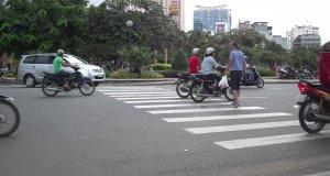 Piesi w Wietnamie nie mają łatwo