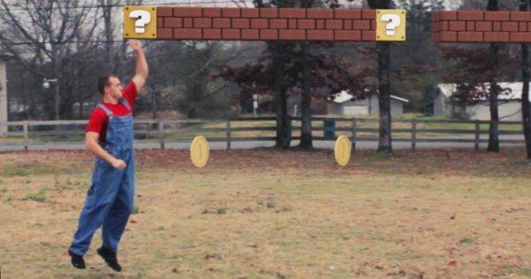 Super Mario w prawdziwym świecie