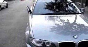 Odgłos odjeżdżającego BMW