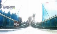 Reklama w trakcie konkursu skoków narciarskich