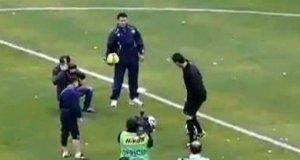 Cristiano Ronaldo vs. dwunastolatek