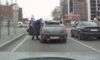 Rosyjski sposób na cwaniaka za kierownicą