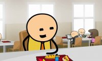 Cyanide & Happiness - smutny Larry