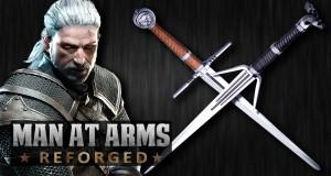 Produkcja wiedźmińskiego miecza