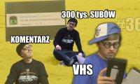 Cyber Marian: 300 tys. subów, komentarz i VHS