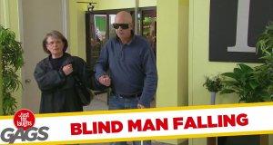 Ukryta kamera - niewidomy i winda, której nie ma