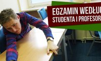 Egzamin według studenta i profesora