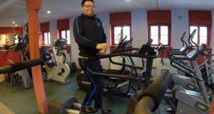 Kryspin i jego bardzo osobisty trening