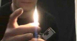 Triki z zapalniczką
