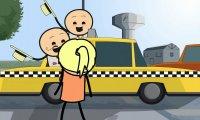 Cyanide & Happiness - taksówkarz