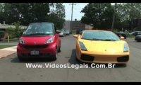 Smart vs Lamborghini