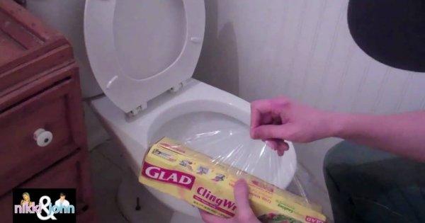 Toaletowy żart