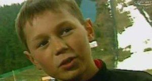 Mały Kamil Stoch o medalu olimpijskim
