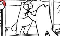 Kot Simona - Lustro w lustrze