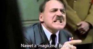 Hitler dowiaduje się o przegranej w meczu z Polską