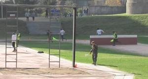 Trening zręcznościowy wojska w Chile