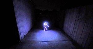 Kostium Halloweenowy z żarówek LED