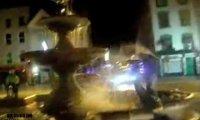 Skok z fontanny