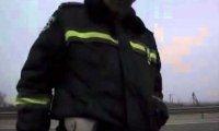 Kontrola drogowa na Ukrainie