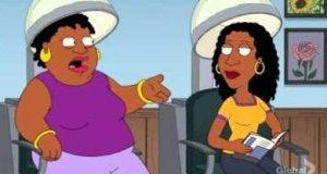 Standardowa rozmowa Afroamerykanek wg Family Guy'a