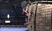 Z trampoliny na ścianę