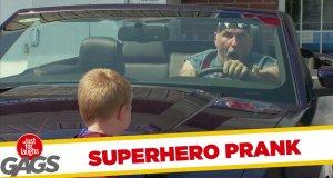 Ukryta Kamera - Superdzieciak powstrzymuje złodzieja