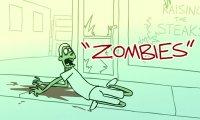 Ewakuacja z miasta Zombie - animacja