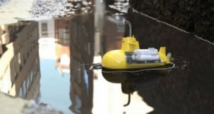 Miniaturowa łódź podwodna