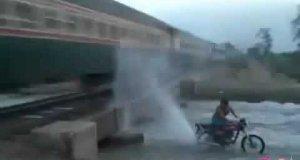 Czyszczenie pociągu