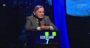 Jeden z dziesięciu: śpiący pan Czesław