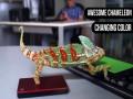 Kameleon i zmiana kolorów